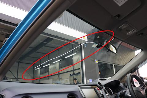ほとんどの日本車に合わせて社外品のフロントガラスをご用意しております!