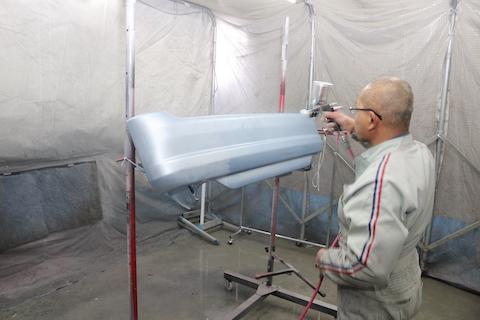 デントリペアと鈑金・塗装を自社で両立しているからこそ、一番良いヘコミ修理を提案します!