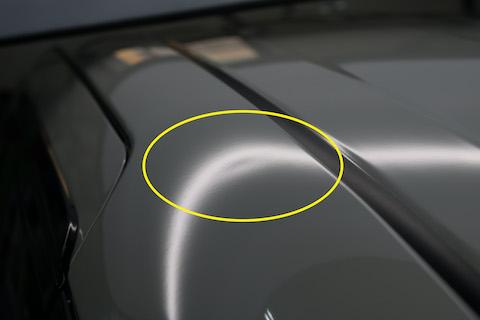 車のヘコミ裏に工具が入らない、デントリペアが出来ないなら、引っぱりで直します!