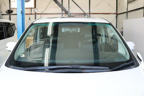 フロントガラス色変え、フィルムで車検不合格でもコートテクトで合格!