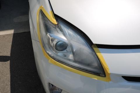 ヘッドライトの黄ばみ・曇り・白ボケを取る方法!