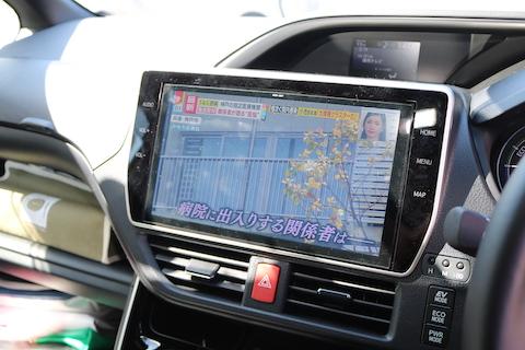 走行中にテレビ・DVD視聴、ナビ操作を可能にする方法、テレビキャンセラー 。