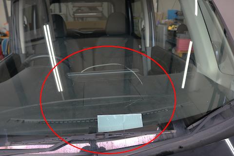 自動ブレーキが付いたフロントガラス交換、カメラ調整もお任せください!
