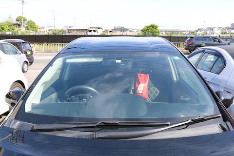 車の中が暑い!そのお悩みをコートテクトのフロントガラスで解決!