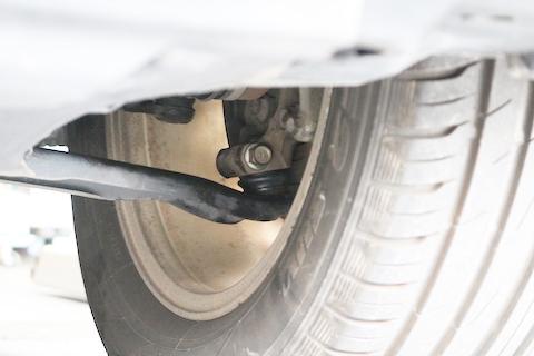 エクストレイルの車検整備、見えない場所に危険が迫っています!