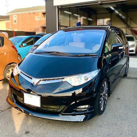 コートテクトのフロントガラス、色んな車種に対応しております!