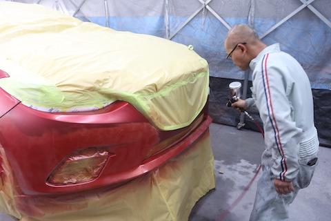 愛車の修理、オーナー様としっかり打ち合わせして一番良い方法を提案!
