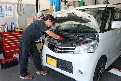 急に発生する車の故障トラブルを回避する定期点検!