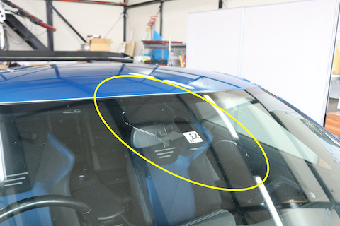 GT-Rのフロントガラスも社外品で交換が可能です!