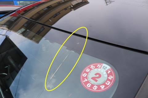 自動ブレーキ機能がついたフロントガラス交換はカメラ調整が入ります!