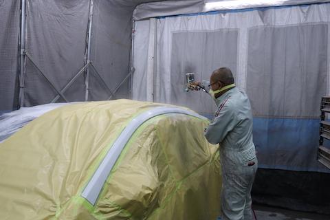 修理歴なしと査定士が鑑定する仕上げ!35年の塗装職人が直します!