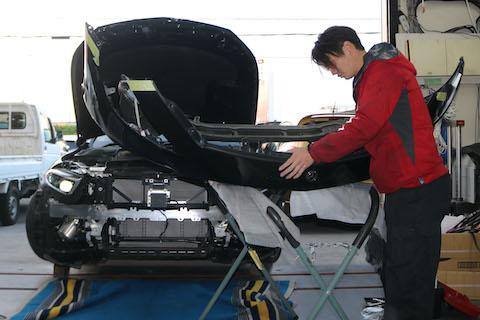 メルセデスベンツ AMG 53のグリルをパナメリカーナグリルに交換!