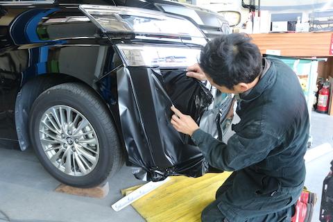 カーラッピングは車両保険でしっかり保証してもらえます!