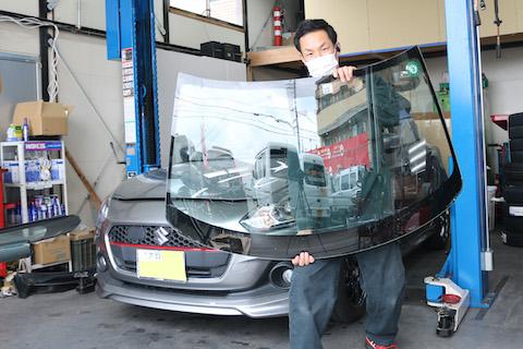 今の輸入ガラスは、視界良好・安全JIS規格・UVカット!
