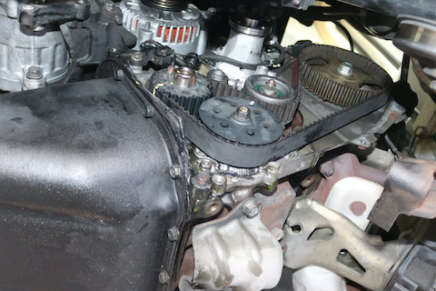 20万キロ走った車、エンジンから足回りしっかり整備!