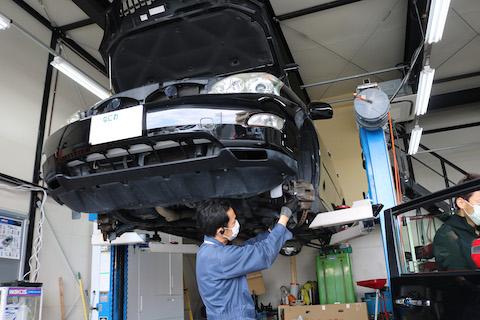 車検はブーツ破れ等の点検で未然にトラブル防ぐ大事な作業!