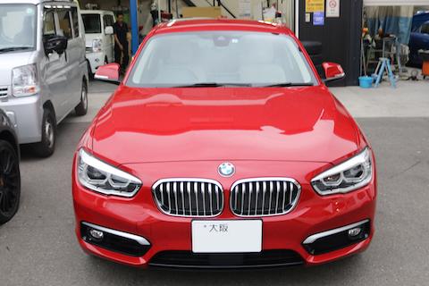 BMWの断熱対策でフロントガラス交換!
