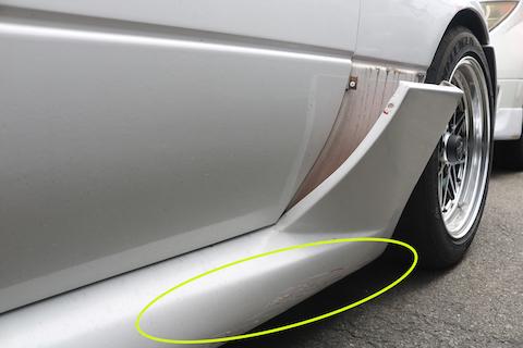 ロードスターNA系の修理から板金・塗装お任せください