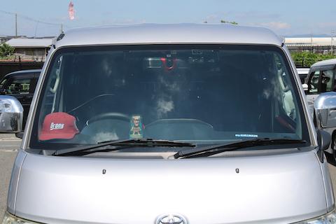 コートテクト青色フロントガラスは車検に合格します!