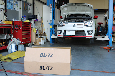 車高調の取り付けで車をお好みの高さに調整可能!