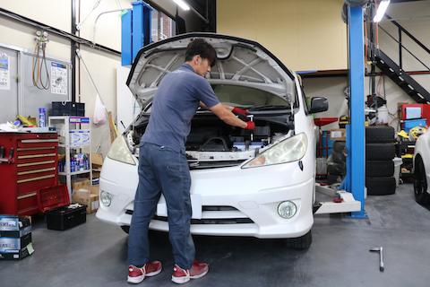 車検時に予防修理もして寿命を伸ばす・故障しないメンテナンス