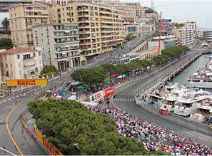 モナコオフィスからF1モナコグランプリを望む