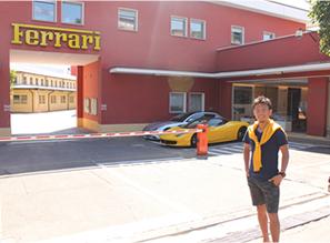 自動車好きの憧れ、フェラーリ本社へ!